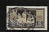 ITALY, 234, USED, MONKS LAYING CORNERSTONE