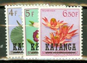 P: Katanga 18-34 mint, 19 thin CV $75; scan shows only a few