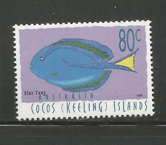 COCOS ISLANDS,309, MNH, FISH