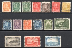 CANADA 162-177 USED SCV $85.45 BIN $34.15 ROYALTY, PLACES