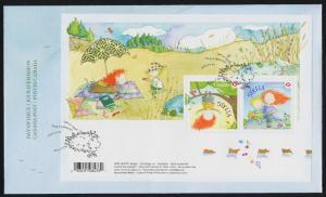 Canada 2652 on FDC Stella, Cartoon, Children's Stories, Butterfly