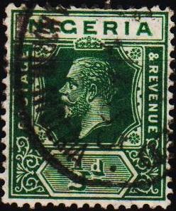 Nigeria. 1914 1/2d S.G.15  Fine Used