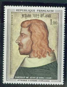 France Scott 1084 MNH** 1964 John the Good by d'Orleans
