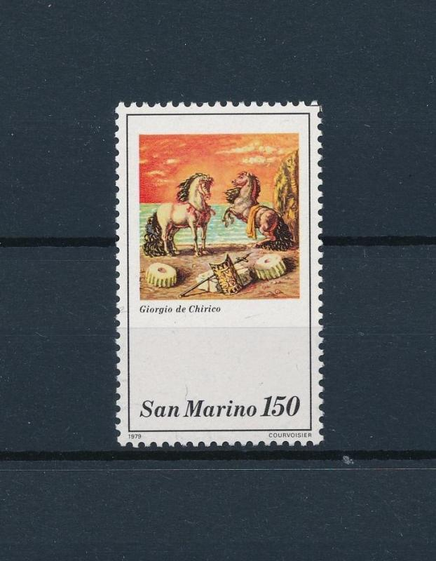 [57791] San Marino 1979 Antique horses from set MNH