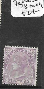 INDIA   (P0310BB) QV 9P  SG 78  MOG
