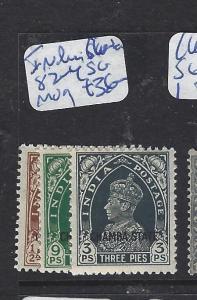 INDIA CHAMBA (P1012B) KGVI 3P-9P  SG 82-4   MOG