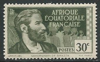French Equatorial Africa  + Scott # 42 - MH