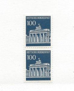 Germany, 956, Brandenburg Definitive Pair, MNH