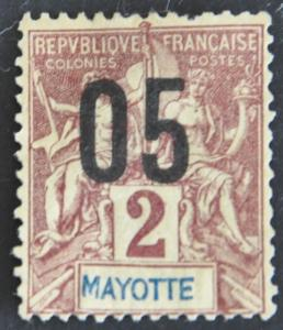 DYNAMITE Stamps: Mayotte Scott #22 – UNUSED