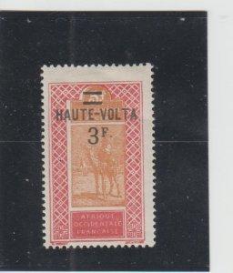 Burkina Faso  Scott#  40  MH  (1927 Surcharged)