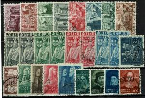 Portugal 26 Mint and Used, some faults - C1302