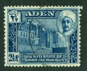 Aden (Quaiti-Shihr-Mukalla) 1942 #6 U SCV(2018)=$1.00