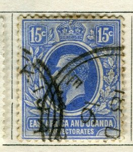 BRITISH KUT; 1912 early GV issue fine used 15c. value