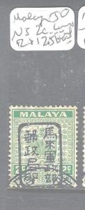 MALAYA JAPANESE OCCUPATION NEGRI SEMBILAN (P1408B) 2C UNISSUED   VFU  RARE!!!!