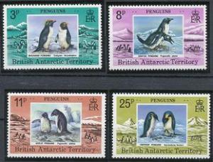 British Antarctic Territory 72-75 MNH (1979)