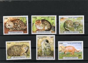 Cambodia MNH 1491-6 Wild Cats 1996