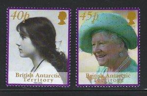 British Antarctic Territory mnh S.C.#  312 - 313