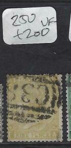 PERU GB USED ABROAD IN  (PP2002B)  CALLAO SGZ 50   9D    VFU