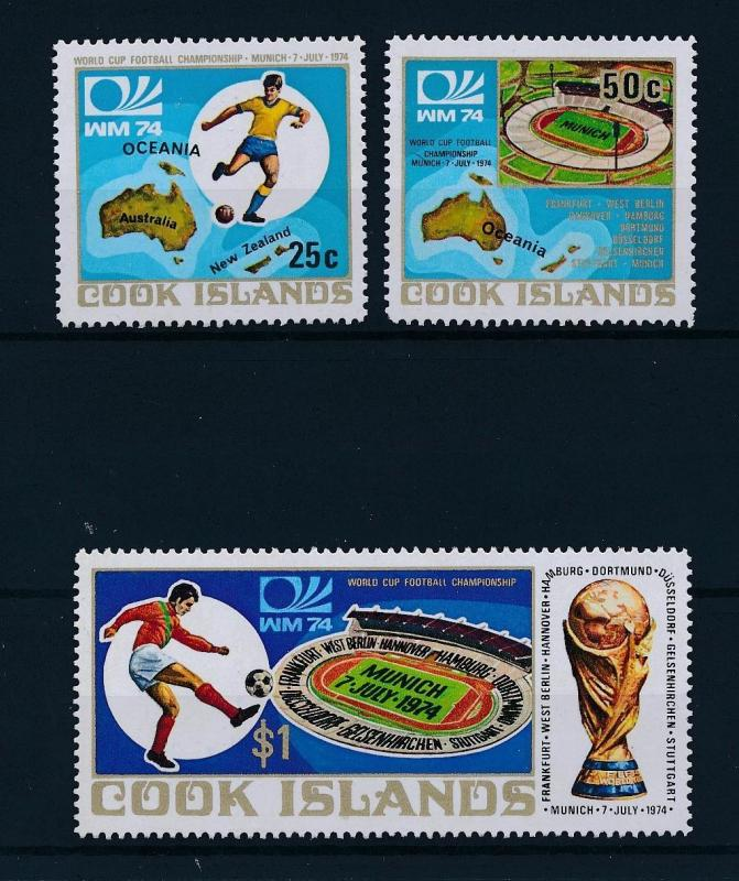[46532] Cook Islands 1974 Sports World Cup Soccer Football Germany MNH