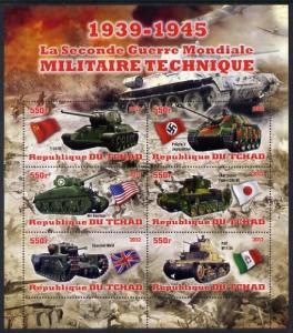 Chad 2012 Military Strength of the Second World War - Tan...