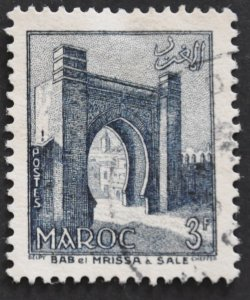 DYNAMITE Stamps: French Morocco Scott #314 – USED