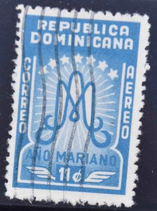 Dominican Republic Scott C88 Used stamp