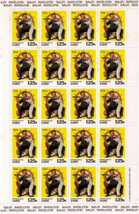 ZAIRE Sc# 1010 MNH FVF 20 Sheet Norman Rockwell Paintings