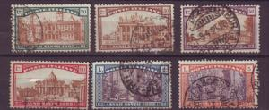 J17214 JLstamps 1924 italy used set #b20-5 designs $197.50 scv