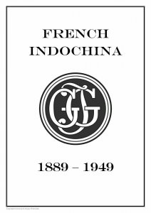 FRENCH INDOCHINA 1889-1949 PDF STAMP ALBUM PAGES