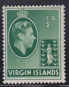 British Virgin Islands 76 King George VI 1938