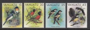 Vanuatu 319-22 Birds mnh
