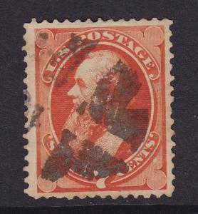160 VF-XF used neat Cross Roads cancel with nice color scv $ 90 ! see pic !