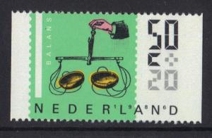 Netherlands 1986 MNH cultural welfare 50ct  from booklet  #