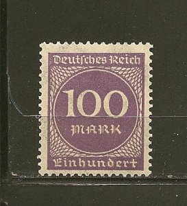 Germany 229 Numeral MNH