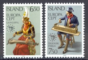 Iceland Sc# 606 MNH 1985 Europa