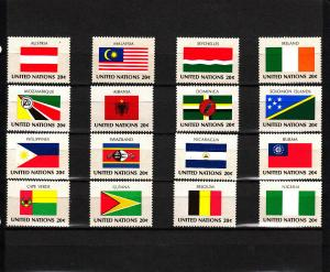 UNITED NATIONS 374-389 MNH 2019 SCOTT SPECIALIZED CATALOGUE $4.00