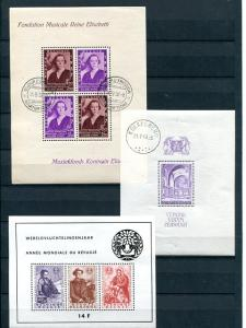 Belgium Sheets  sheets  VF NH