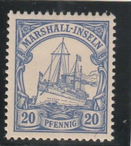 Marshall Islands  Scott#  16  MH  (1901 Kaiser's Yacht)