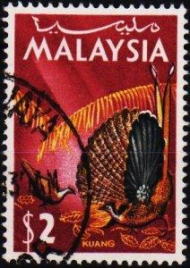 Malaysia. 1965 $2 S.G.25 Fine Used