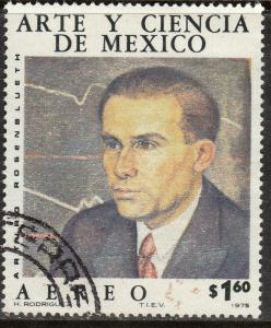 MEXICO C516, Art & Science (Series 5) USED. F-VF. (1332)