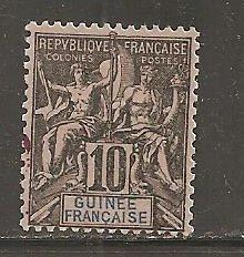 French Guinea  SC  5  Mint Hinged