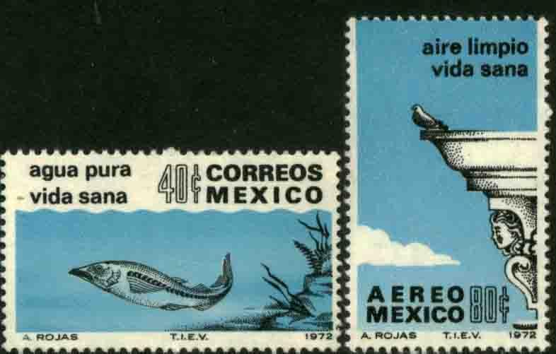 MEXICO 1049, C412, Anti-Pollution Campaign MINT, NH. F-VF.