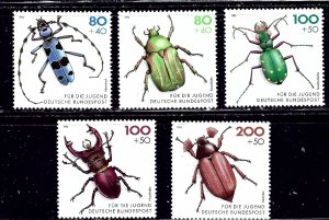 Germany B745-49 MNH 1993 Insects    (ap2155)