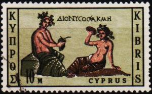 Cyprus. 1964 10m S.G.252 Fine Used