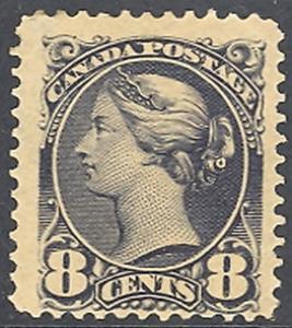 Canada #44  Mint F-VF