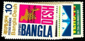 BANGLADESH 9-16  Mint (ID # 55272)