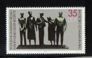 Germany  DDR  1984 MNH Resistance memorial