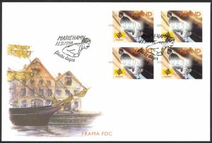 Finland Aland Islands FDC 1998 Frama