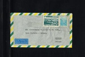 192? - Brasil Air letter - To Zürich [B06_120]