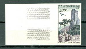 CAMEROUN IMPERF. #C30..MINT VERY LIGHT HINGE MARK in MARGIN...$60.00